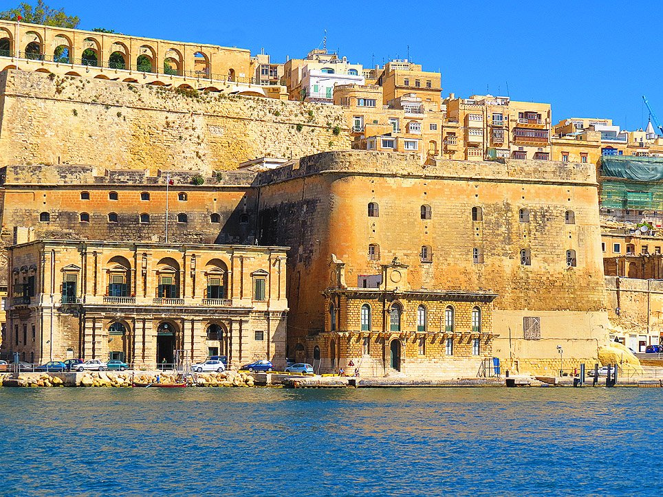 Old Customs House and Bastions Valletta