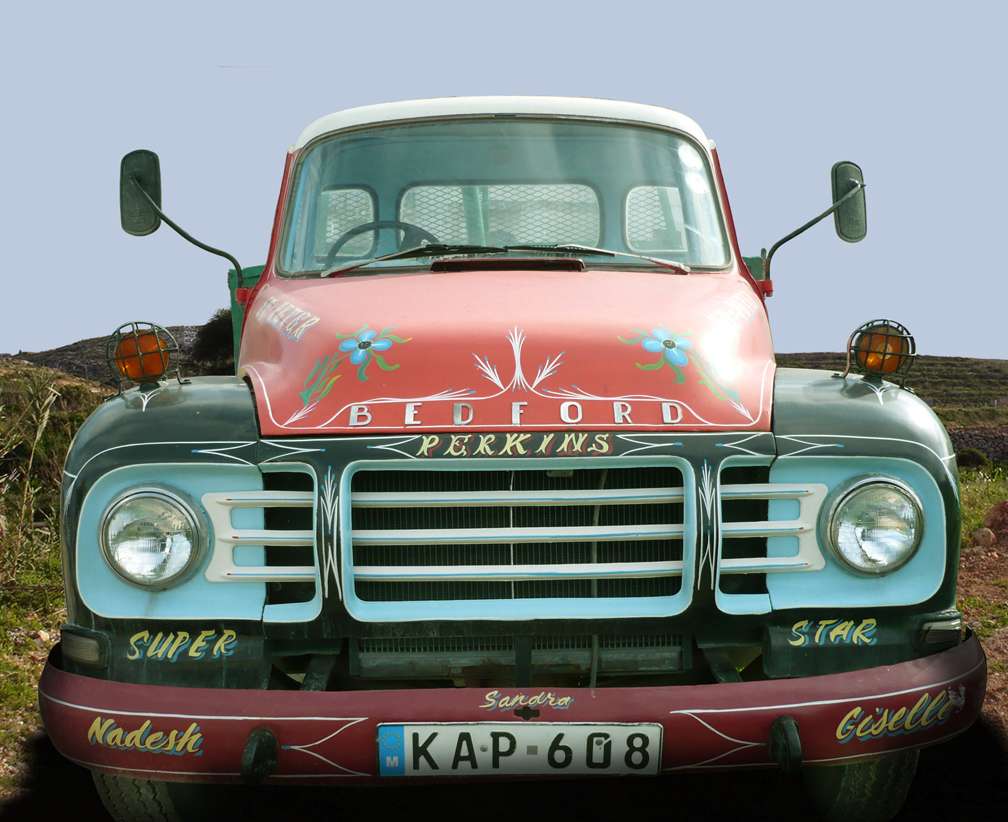 Decorated Bedford Truck
