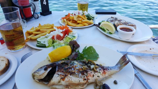Eating in Gozo