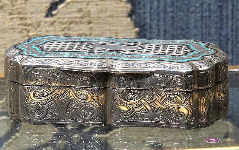 Finely crafted Silver Box