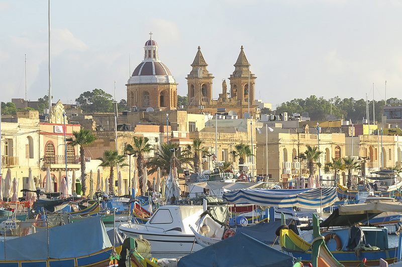 Marsaxlokk – home of the largest fishing fleet in the islands