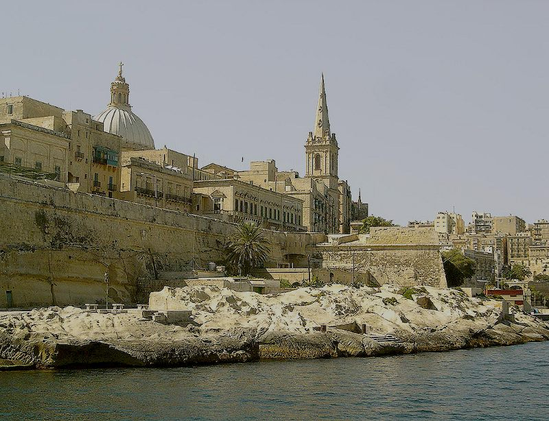 Valletta from Marsamxett
