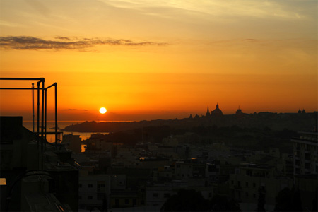 Sunrise on Malta