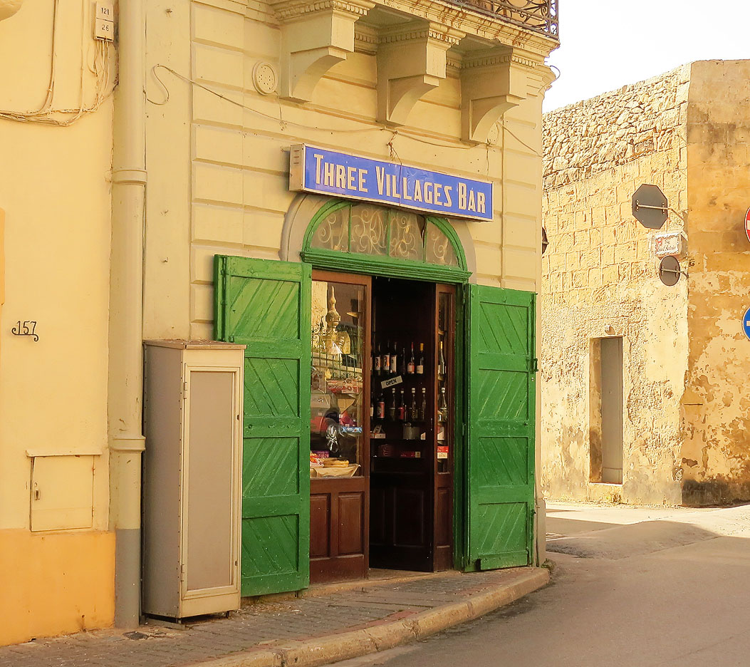 The Three Villages Bar, Malta