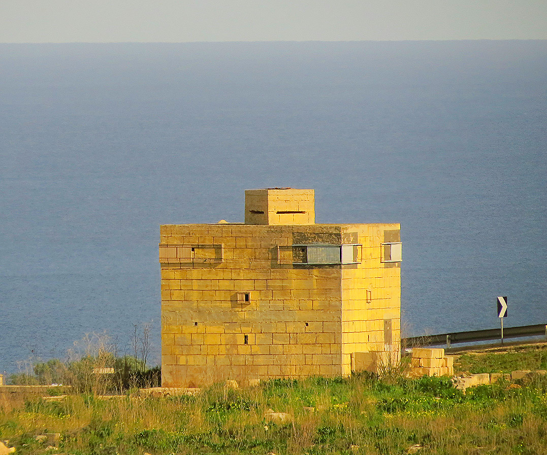 Pillbox At Naxxar