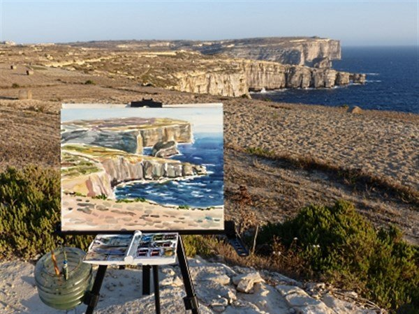 Gozo Painting Experience