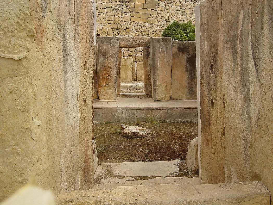 Tarxien Temple Entrance