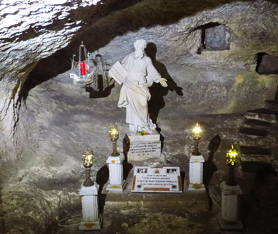 The Grotto of Saint Paul