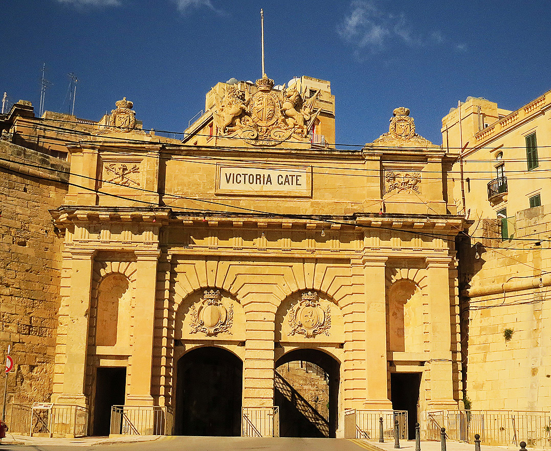 Victoria Gate in Valletta