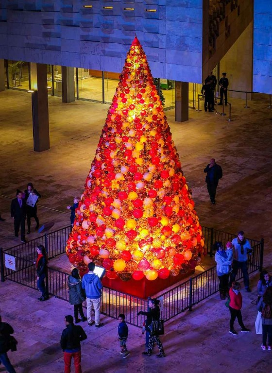 Mdina Glass Christmas Tree