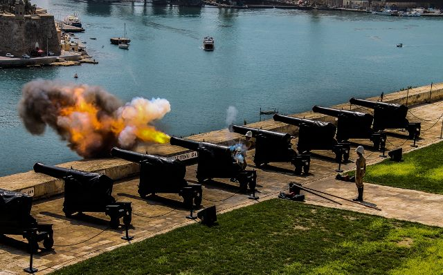Saluting Battery, Valletta