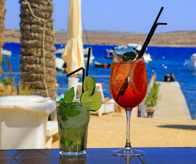 Cocktails in Malta