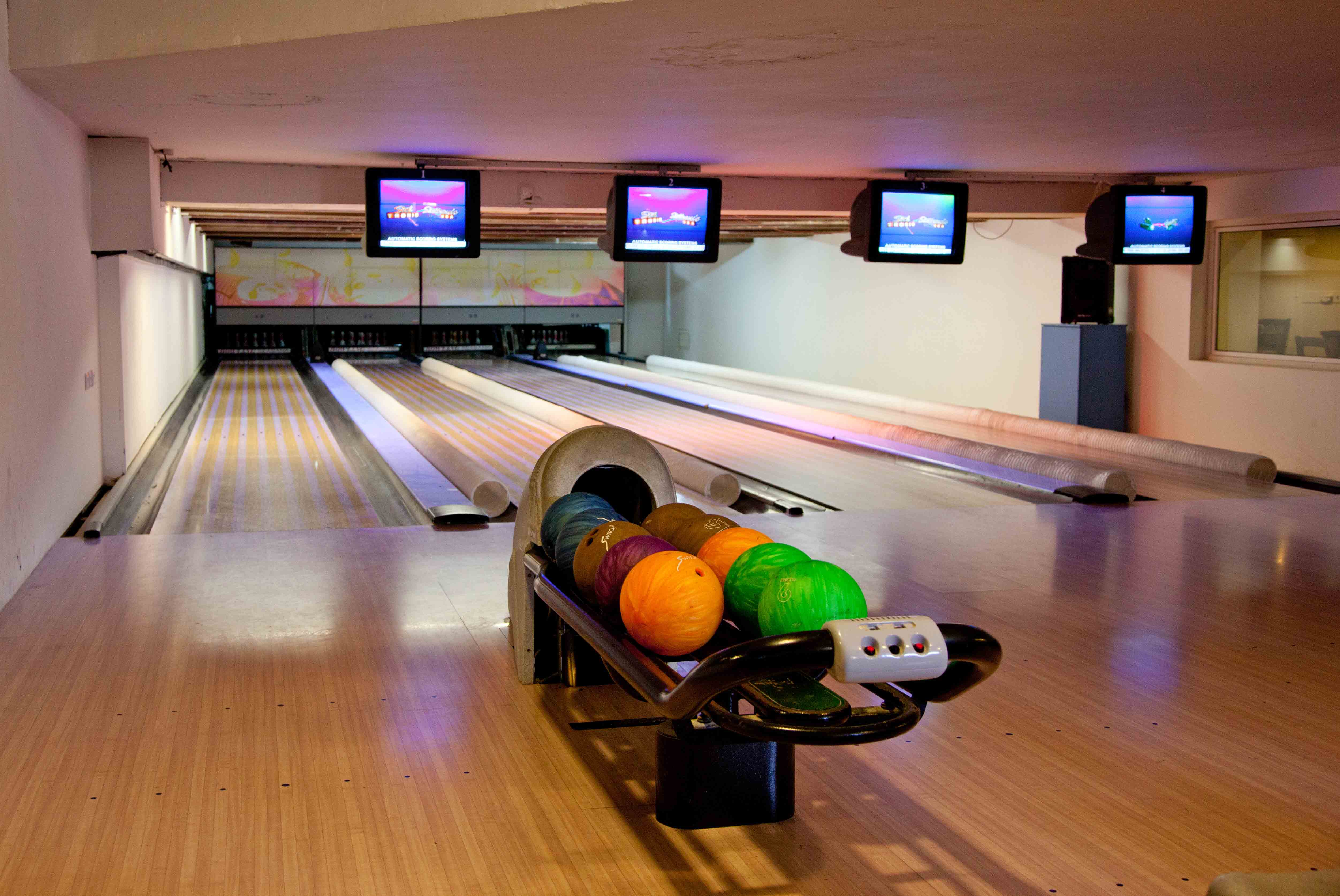 Bowling at the Seabank Resort