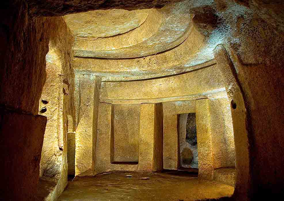 The Hypogeum at Hal-Saflieni, Malta