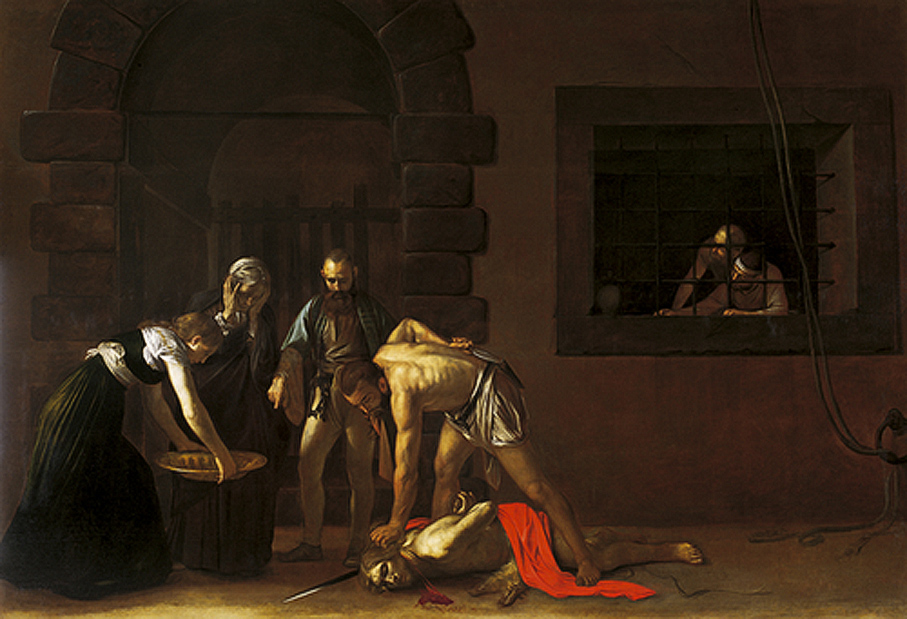 Caravagios The Beheading of Saint John