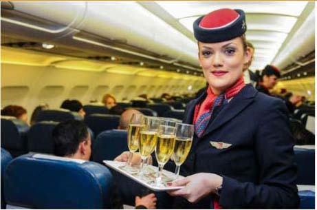 Air Malta Flight Attendant