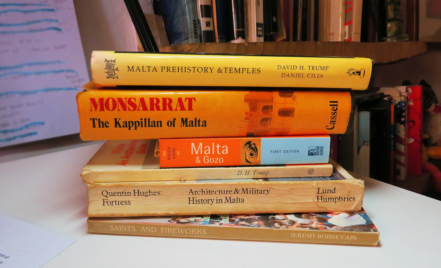 Malta Books - Holiday Reading