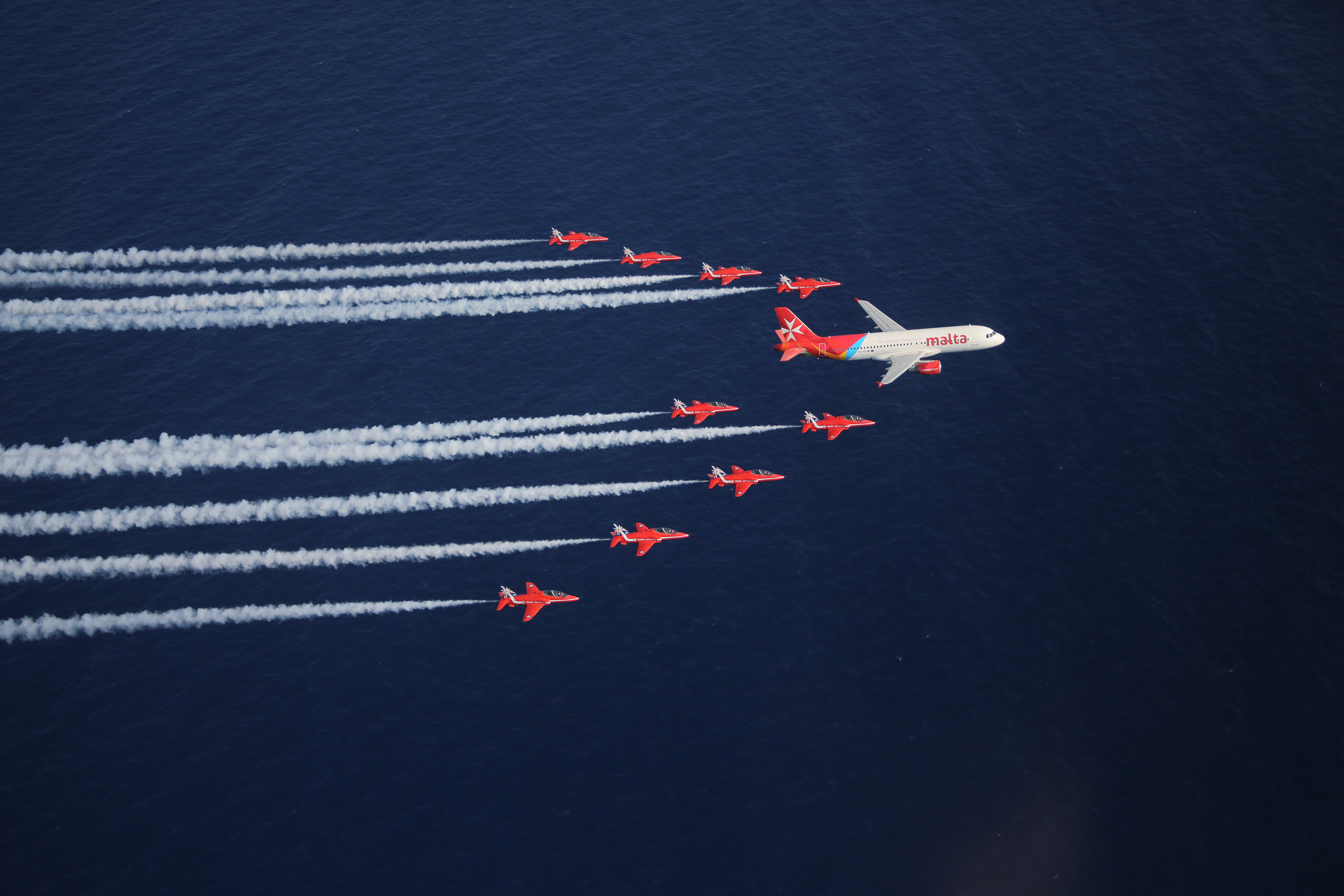 Air Malta with Jets