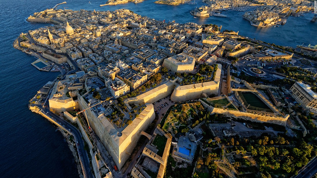 Valletta from the Air