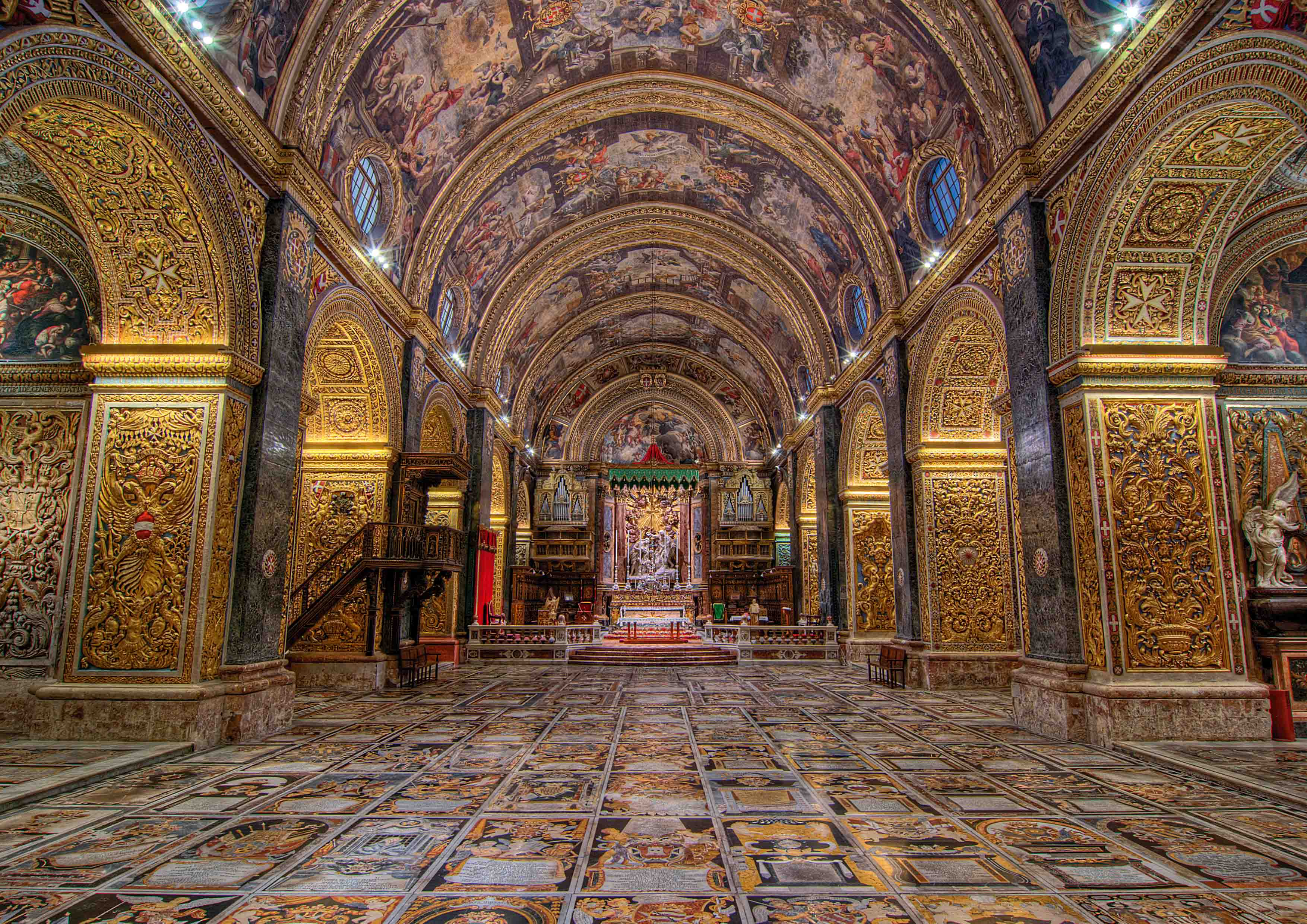 St Johns Co Cathedral, Valletta