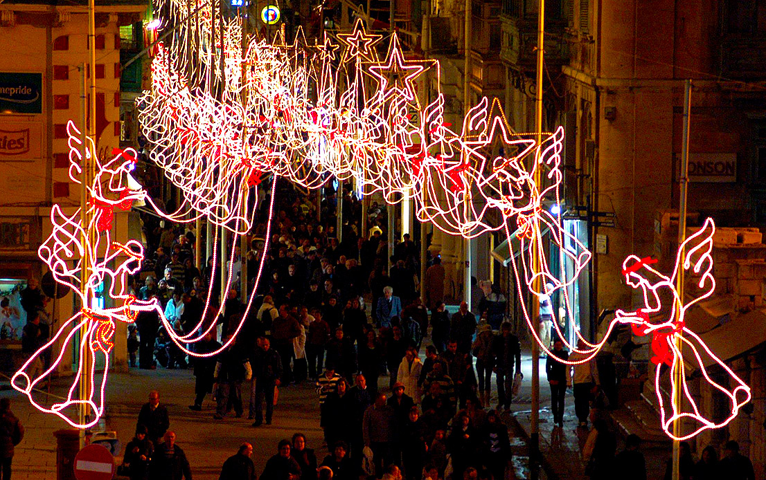Christmas in Valletta