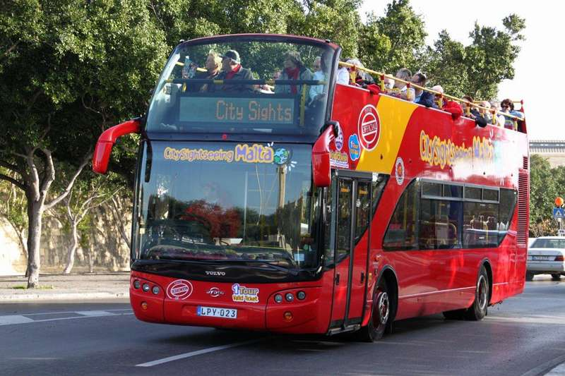 Malta City Sightseeing Hop On Hop Off One Day Ticket