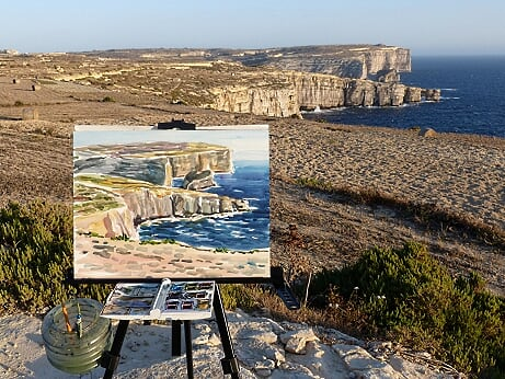 Gozo Painting Lessons