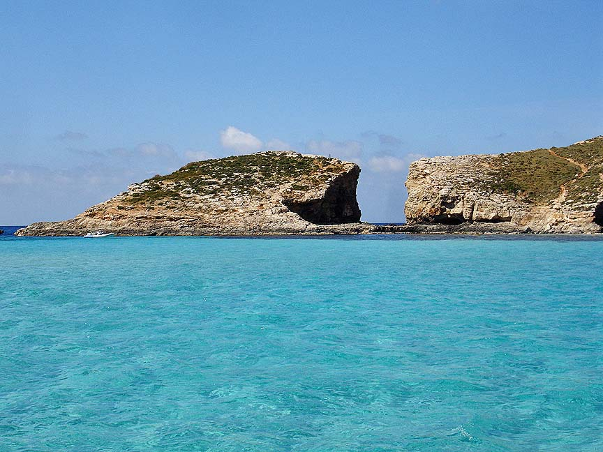 Swim the Blue Lagoon, Comino, Malta