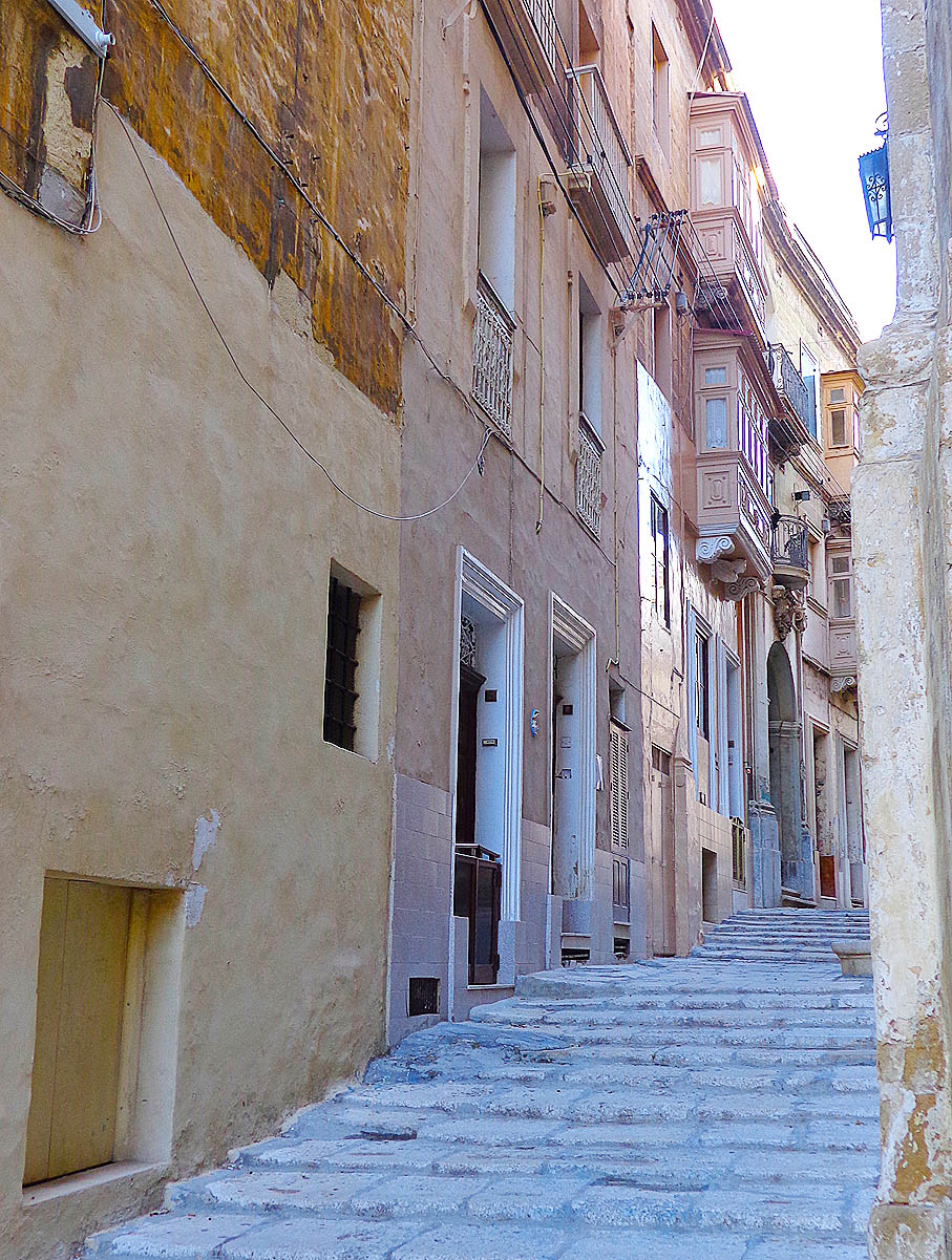 Cospicua Stepped Street, Malta