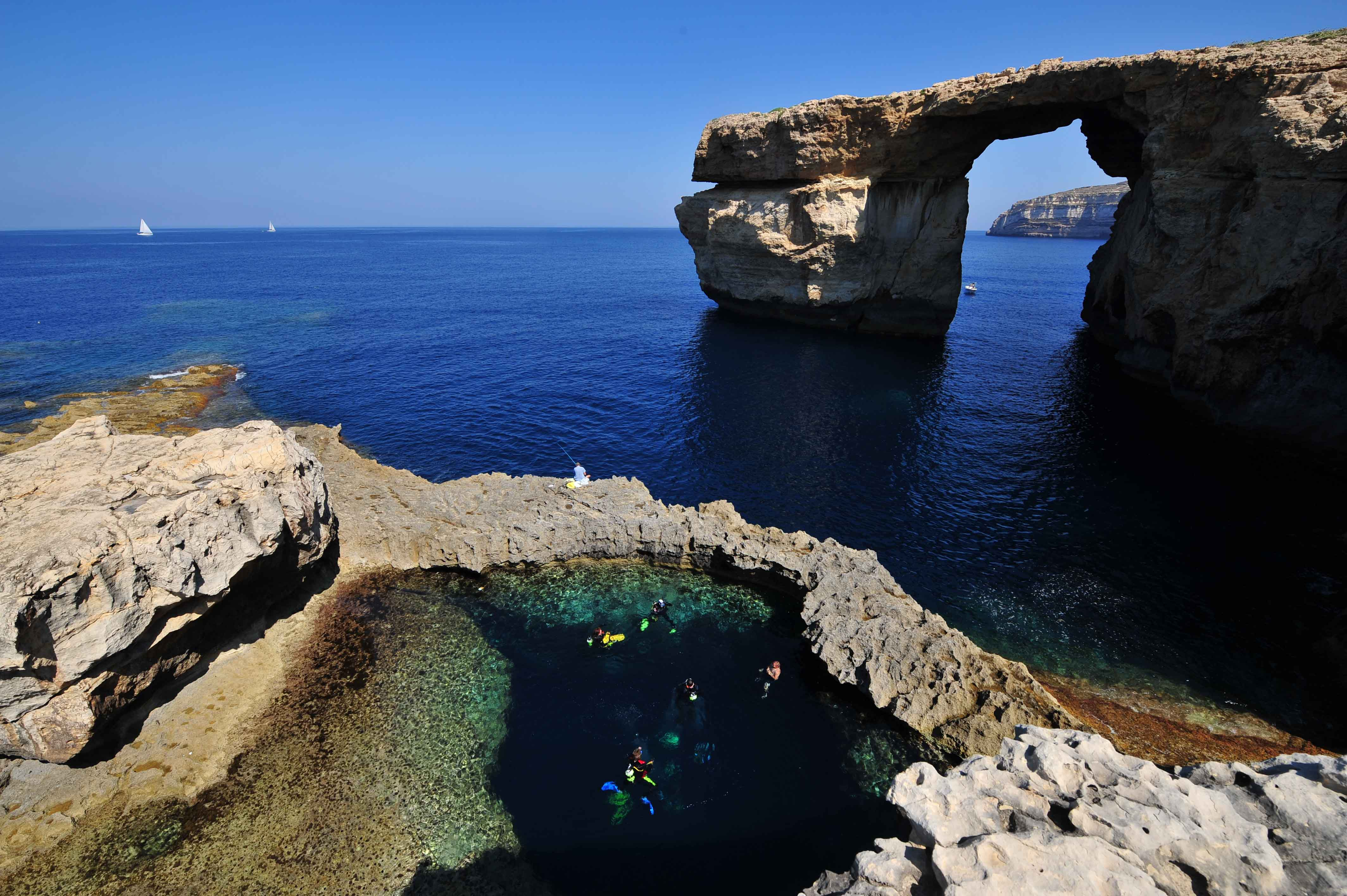Azure Window, Dwejra