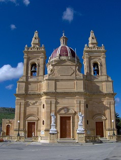 Ghasri Village Church, Gozo