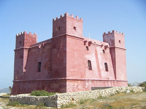 Red Tower, Marfa, Malta