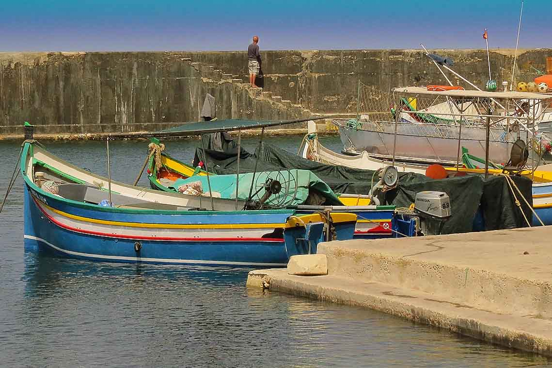 Marsalforn Fishing Harbour, Gozo