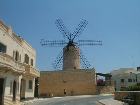 Windmill in Xaghra, Gozo