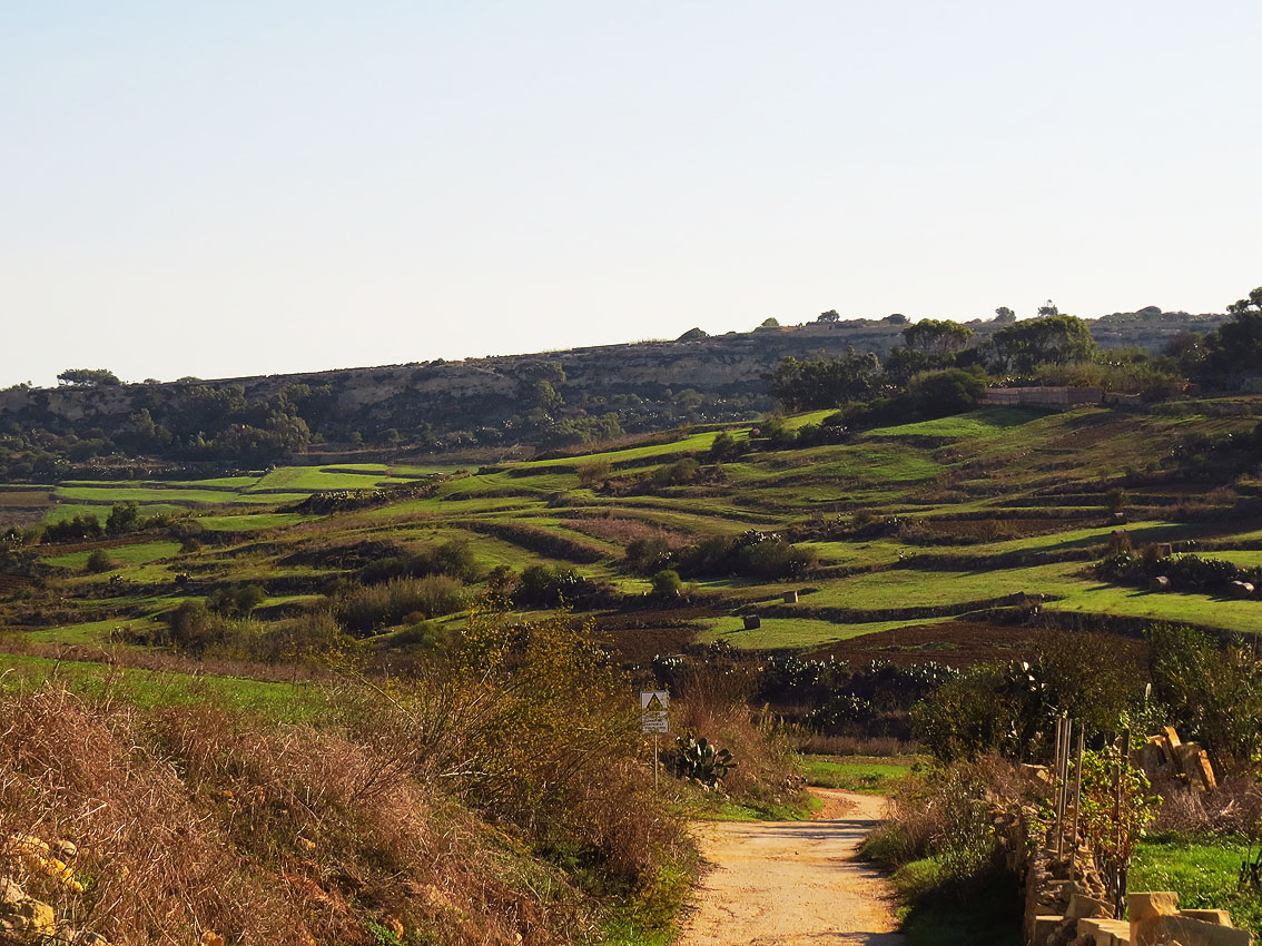Walking down the Valley, Gozo