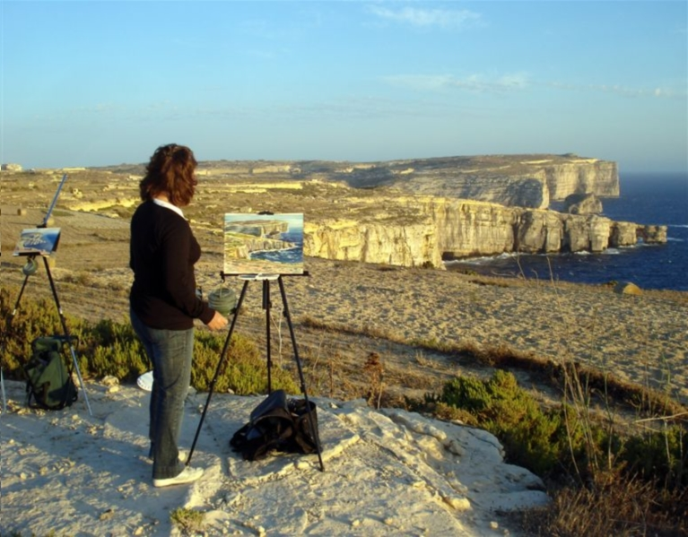 Gozo Painting Courses and Lessons